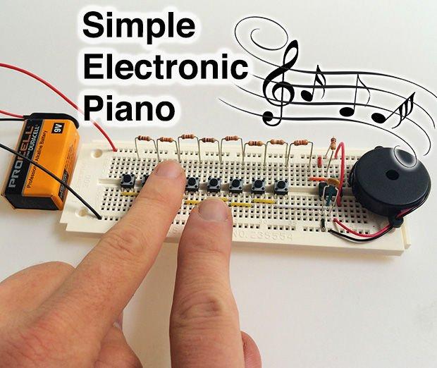 بيانو الكتروني بسيط