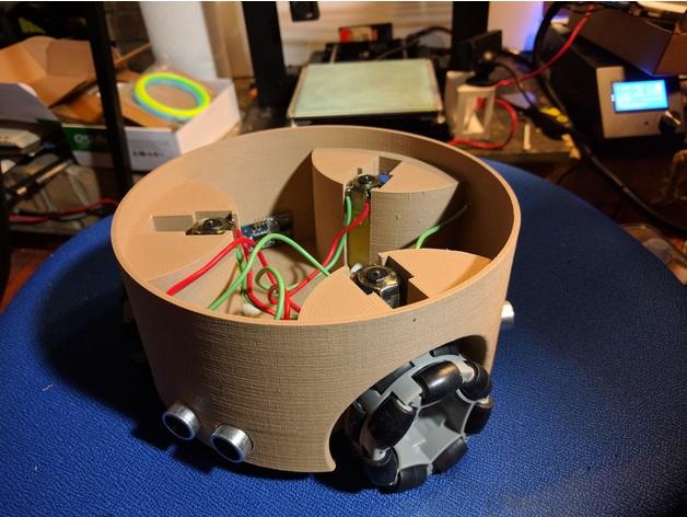 طباعة جسم الروبوت بطابعة ال3D