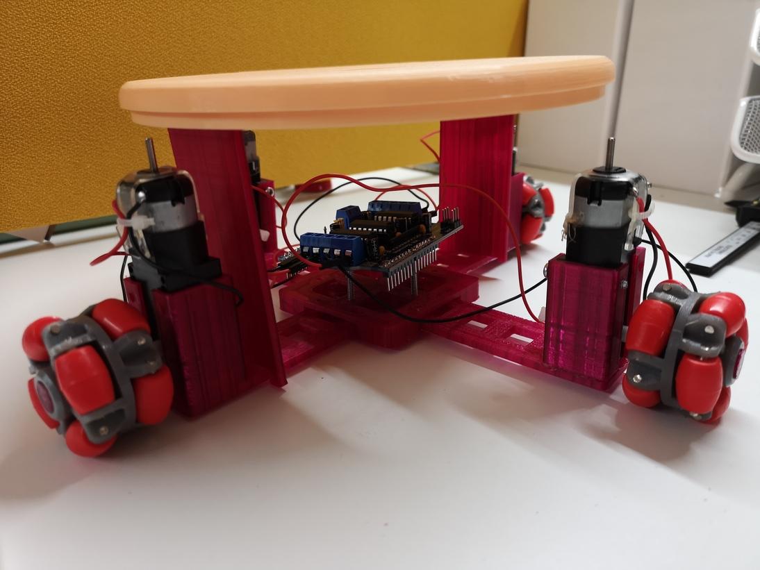 كيف تصنع روبوت سهل و يتحرك!