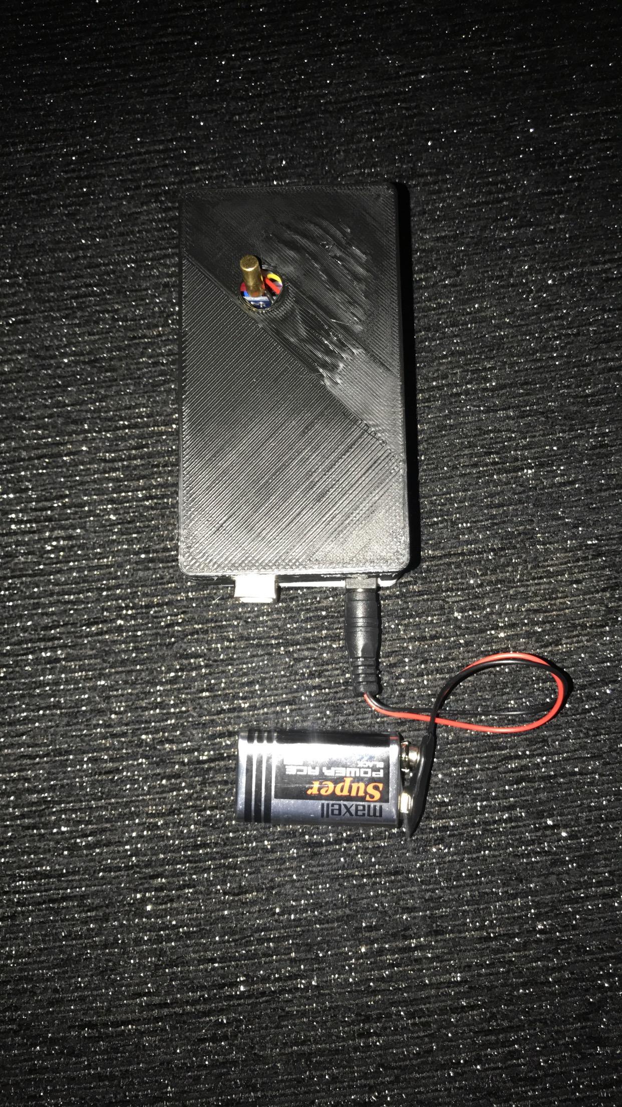 جهاز الكشف عن السقوط (بإستخدام حساس الميلان)