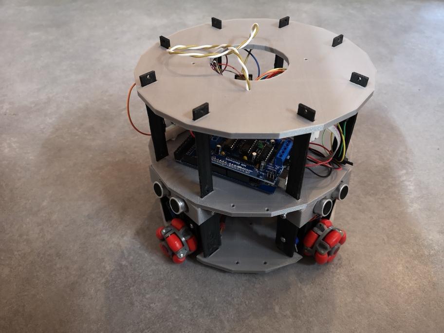 3. كيف تعمل عجلات الomni للروبوت