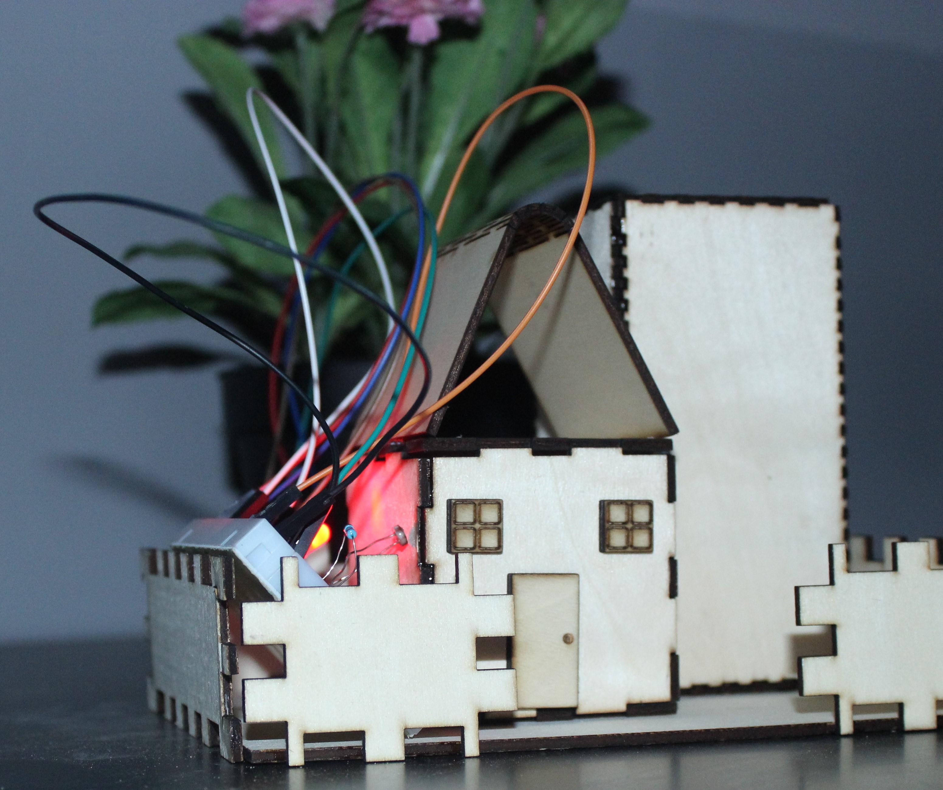 التحكم بالضوء باستخدام حساس الضوء – LED Controlled via LDR Using Arduino