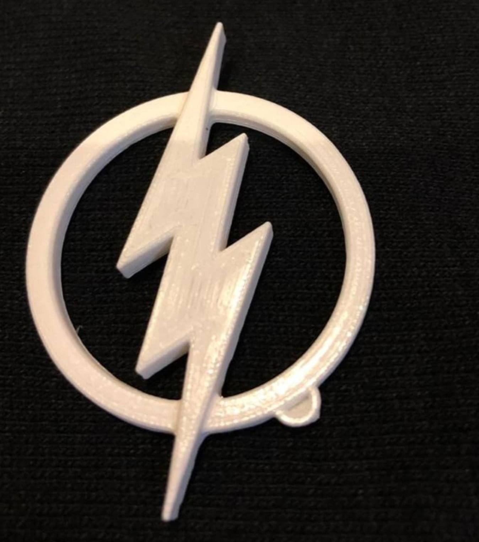 شعار شخصية فلاش Flash Logo