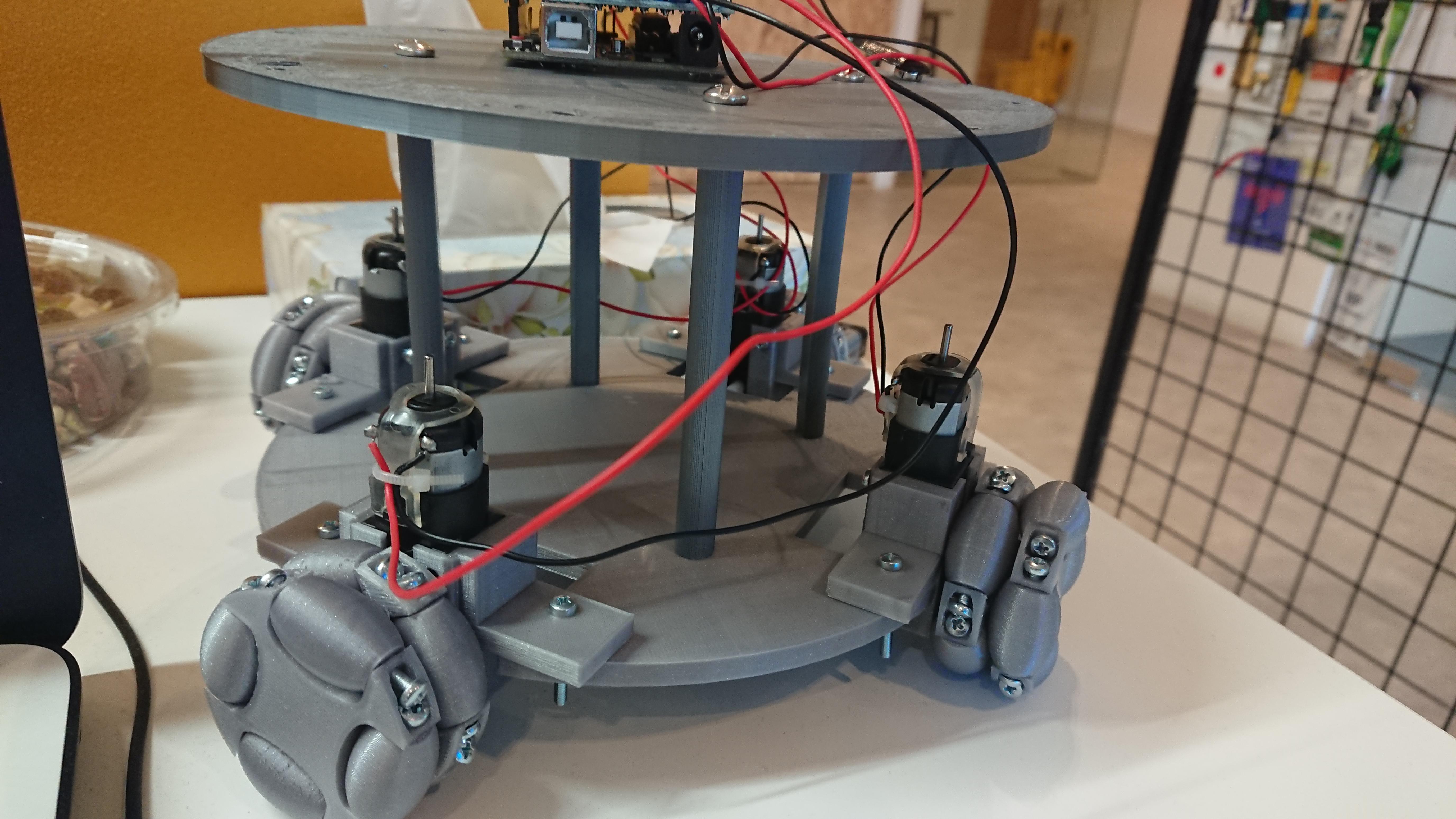 روبوت مصنّع بطابعة ثلاثية الأبعاد