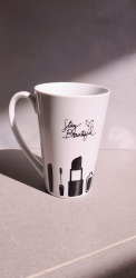 "the stay beautiful mug ""مجمع نورة الجبر"""