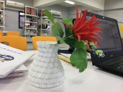 مزهرية ثلاثية ابعاد
