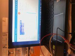 برمجة الزر الضاغط