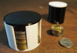 حافظة نقود معدنية