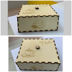 صندوق لحفظ انواع الشاي