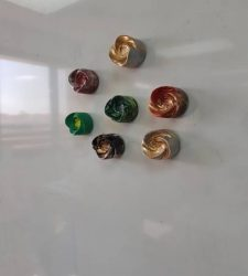 عمل اشكال ثلاثية الأبعاد بإستخدام مادة البلاستيك ( ثانوية نورة الجبر )