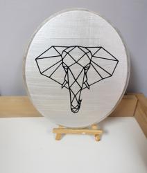 الطباعة على الخشب (ثانوية نورة الجبر )