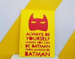 Bat Man's Painting (ثانوية نورة الجبر )