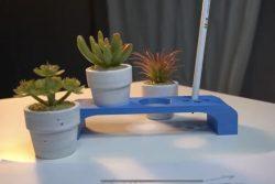 تصميم حامل نباتات واقلام مكتبي