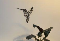 تصميم هندسي لمجسم طائر